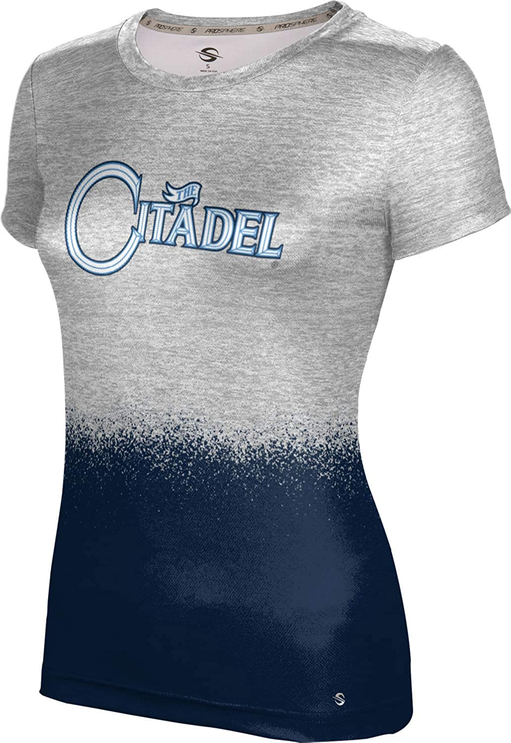 ProSphere The Citadel College Girls' Performance T-Shirt (Spray Over)