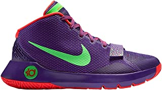 KD Trey III Mens hi top Basketball Trainers 749377 Sneakers Shoes (UK 8 US 9 EU 42.5, Court Purple Green Streak Bright Crimson 536)