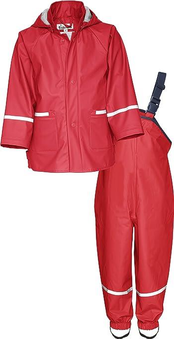 Playshoes Girls Regen Rainsuit Set Basic rain Jacket