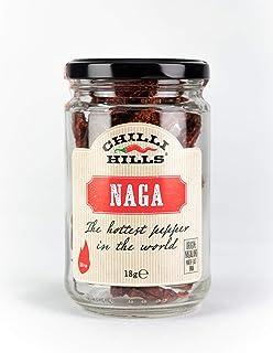 comprar comparacion Chilli Hills chiles deshidratados NAGA (Ghost chiles). Los mejores chiles y los más picantes, cultivados en nuestro huerto...