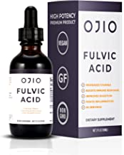 OJIO Fulvic Acid Trace Mineral Complex | Cellular Repair | Increases Energy | Boost Immune System | Relieves Pain & Helps ...