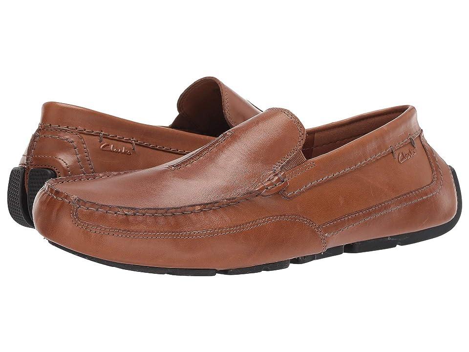 Clarks Ashmont Race (Tan Smooth Leather) Men