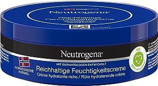 Neutrogena Norwegische Formel Feuchtigkeitscreme, reichhaltig, mit Vitamin E, für trockene Haut, 200ml