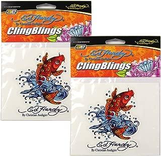 Ed Hardy Koi Fish Crystal Cling Bling