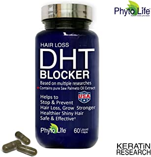 HAIR LOSS DHT BLOCKER NATURAL SUPPLEMENT WITH SAW PALMETTO PURE OIL EXTRACT 30 DAY SUPPLY