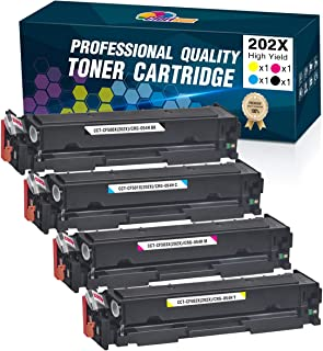 Clorisun Compatible HP 202X 202A Toner Cartridges Upgraded Replacement for HP CF500X CF500A for HP Laserjet Pro MFP M281fd...