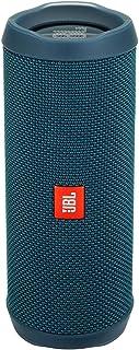 JBL Flip 4 Waterproof Portable Bluetooth Speaker - Ocean Blue (Renewed)