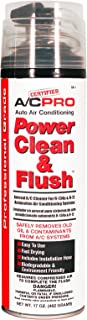 Interdynamics CA1 A/C Pro Auto Air Conditioning Power Clean and Flush Aerosol A/C Cleaner for R134a and R12 Automotive Air Conditioning Systems 17oz