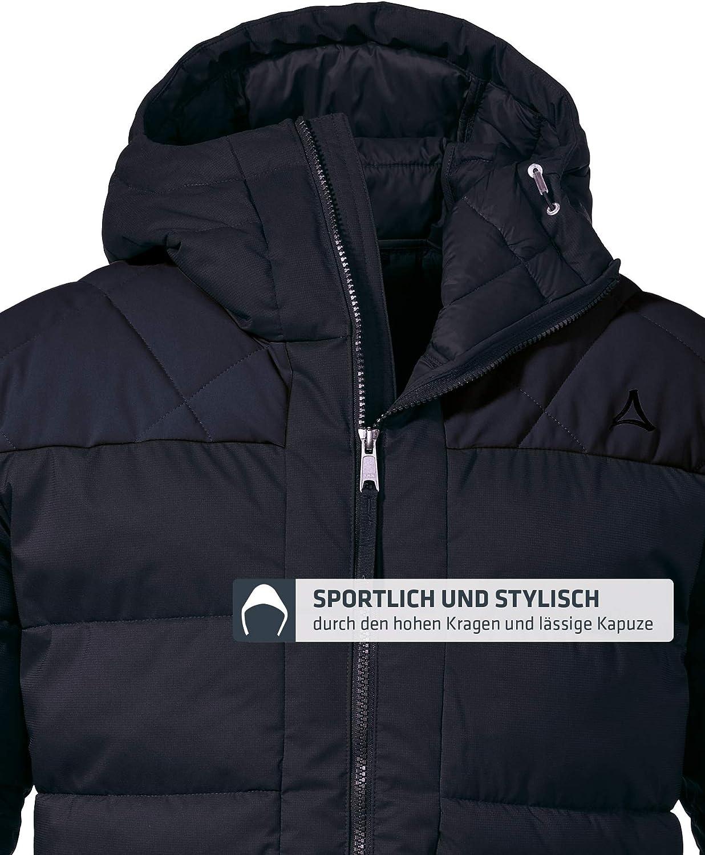 wasserdichte und windabweisende Outdoor Jacke Herren Sch/öffel Insulated Jacket Boston M sportliche Winterjacke mit Kapuze