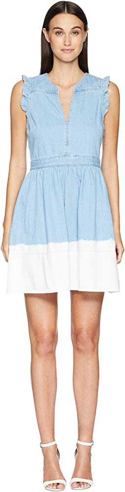 Kate Spade New York Dip Dye Denim Dress