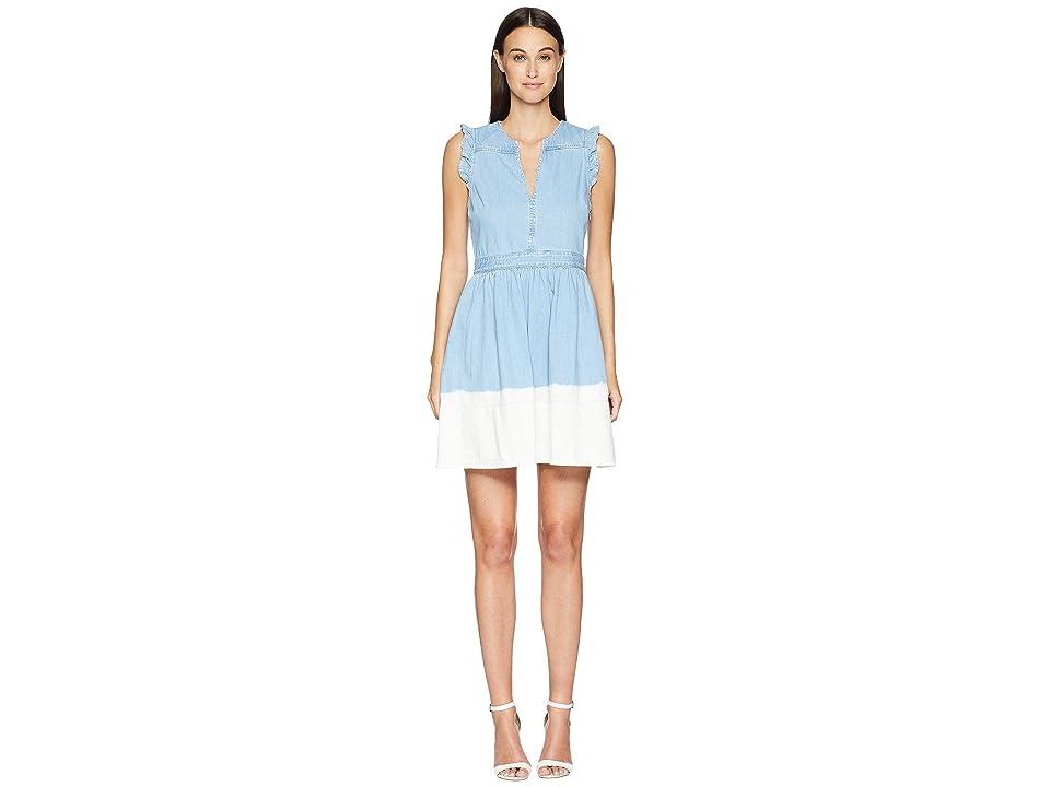 Kate Spade New York Dip Dye Denim Dress (Indigo) Women