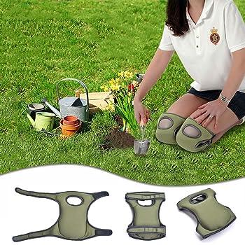 Rodilleras para jardinería, Rodilleras de Espuma viscoelástica para jardín: Amazon.es: Bricolaje y herramientas