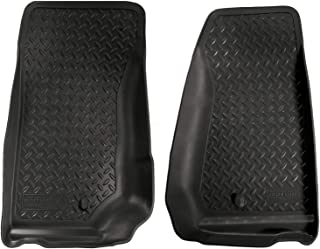 Husky Liners-30521 Fits 2007-13 Jeep Wrangler Classic Style Front Floor Mats-Black