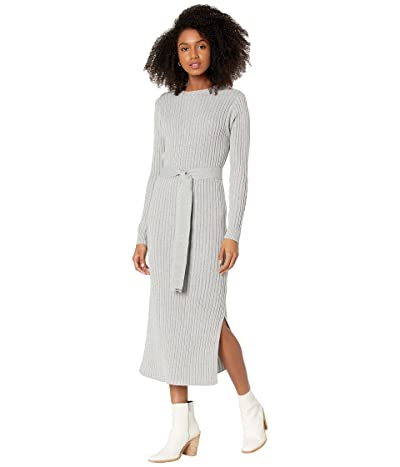 Lost + Wander Traveler Cognac Midi Dress
