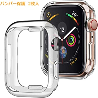 『最新の Apple Watch ケース Series 1/2/3 42mm,RURUO アップルウォッチシリーズ1/2/3 42MM 保護 バンパー ケース クリア スクリーンカバー 柔らかい TPU ウオッチ保護ケース 超薄型カバー新しい 耐衝撃 シンプル 高感度防指紋傷防止 精密操作(バンパー, Series1/2/3 42mm)