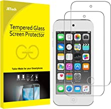 JETech Screen Protector for Apple iPod Touch (7th, 6th and 5th Generation), Tempered Glass Film, 2-Pack
