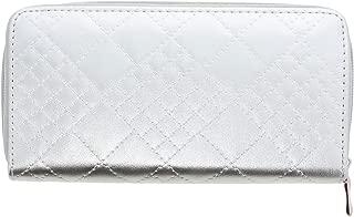 Swirl Design Wallet Vegan Leather Long Wallet Clutch