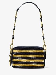 MICHAEL KORS COLLECTION Julie Small Studded Leather Shoulder Bag