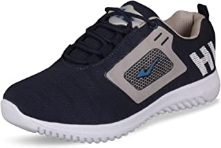 ChiefLand Men's Casual Shoes (Blue & Silver)