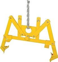 Vestil VDL-22.5 55 gallon Vertical Drum Lifter, Steel, 1000 lbs Capacity