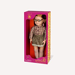 """Our Generation April 18"""" Doll With Plain Shirt & Skirt"""