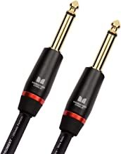 MONSTER CABLE (モンスターケーブル) 楽器用ケーブル ベースギター用ケーブル 長さ 12ft 直X直プラグ M BASS2-12 600548 【国内正規品】