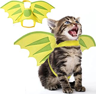 Dragon Wings for Dogs Dog Halloween Costumes for Dogs, Pet Dragon Wings Funny Cat Dog Costume Wings, Pet Wings Halloween D...