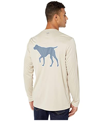 Columbia PHG Terminal Shot Graphic Long Sleeve Shirt (Fossil/Dog) Men