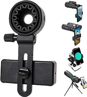 Telescopische telefoonadapter, universele mobiele telefoonhouder, compatibel met verrekijker, monoculair, microscoop, spec...