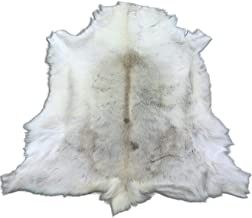 grey reindeer hide
