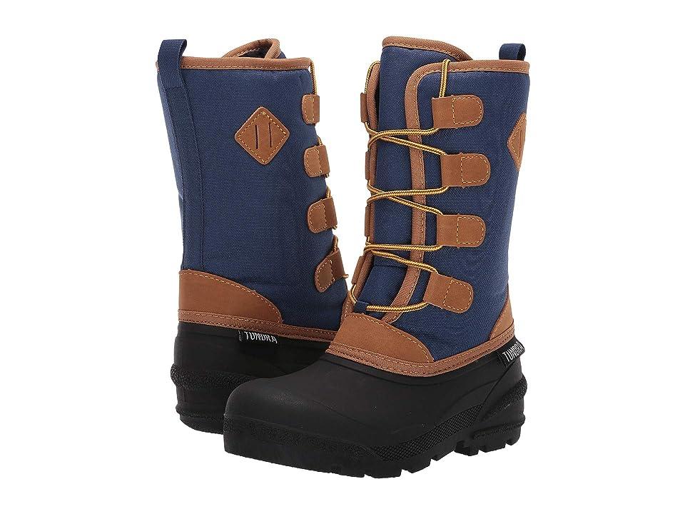 Tundra Boots Kids Burke (Little Kid/Big Kid) (Blue) Kids Shoes