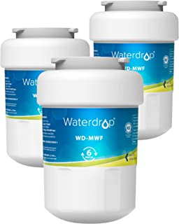 GE MWF Refrigerator Water Filter by Waterdrop, Replacement for GE Smart Water MWF,..