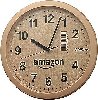 【Amazon.co.jp 限定】リズム(RHYTHM) 掛け時計 ブラウン Φ33x4cm オリジナル 4KG712CZ06
