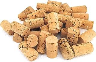 Winyx Lot de 100 bouchons en liège naturel pour bricolage, décoration et travaux manuels