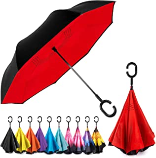 reverse double layer umbrella