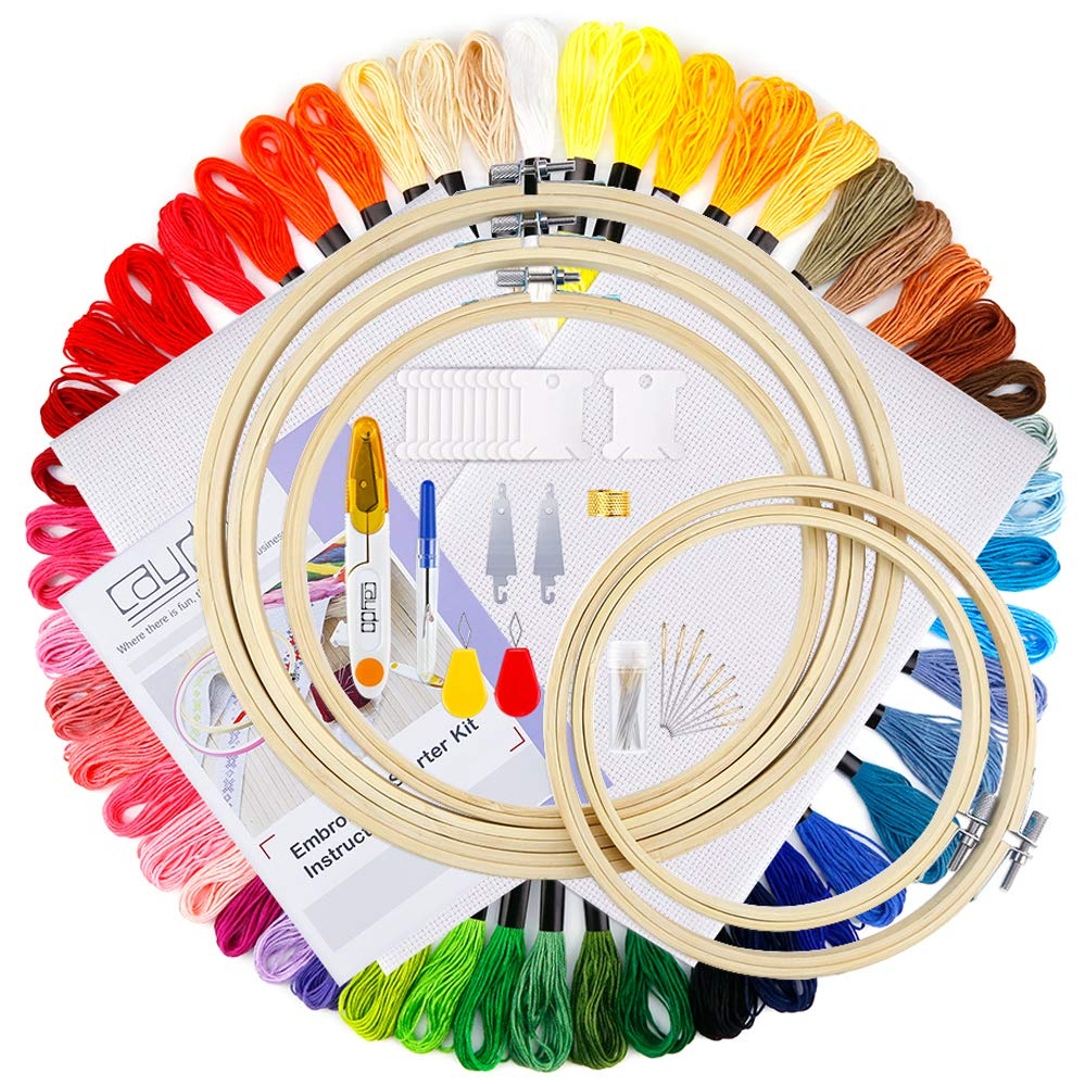 Caydo Embroidery Starter Including Beginners