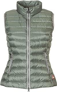 COLMAR ORIGINALS Luxury Fashion Womens 22221MQ148 Green Vest | Season Outlet