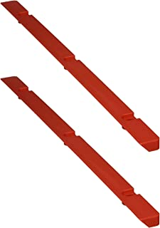 (2) Hitachi 319-549 Table Inserts (Red) for C10FSH