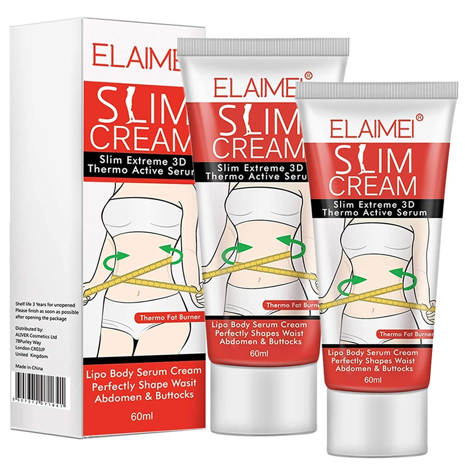Hot New Direct store products world's highest quality popular Cream 2 Pack Professional Firming Slimming Crea Cellulite