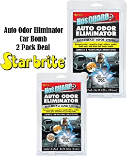 2 Pack Auto Odor Eliminator Control System Car Bomb Tobacco Smell StarBrite