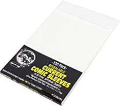 Comic Sleeves - Polypropylene Resealable - Current Size - with Flap - 6-7/8