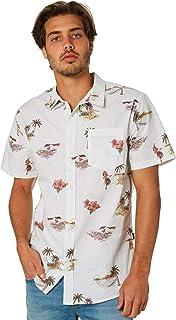 Swell Men's Hula Mens Shirt Short Sleeve Cotton