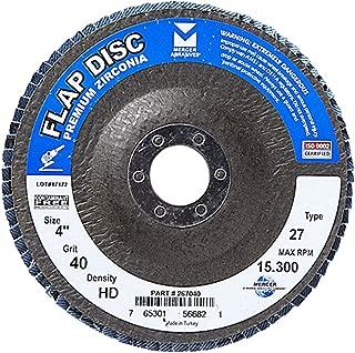 Bosch FD2960080 6 In Arbor Type 29 80 Grit Blending//Grinding Abrasive Wheel Pack of 10 7//8 In