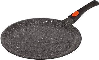 Kamberg - 0008050 - Sartén para crepes 24 cm - Mango Extraíble - Aluminio Fundido - Revestimiento Piedra antiadherente - Todos los incendios, incluida la inducción - Sin PFOA