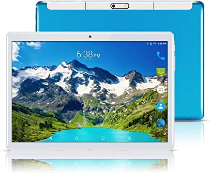 "$105 Get Android Tablet 10 Inch (10.1""),Octa Core,3G Dual SIM Phablet Tablets PC,Dual Camera,4GB Ram+64GB Disk,WiFi,GPS,OTG (Blue)"