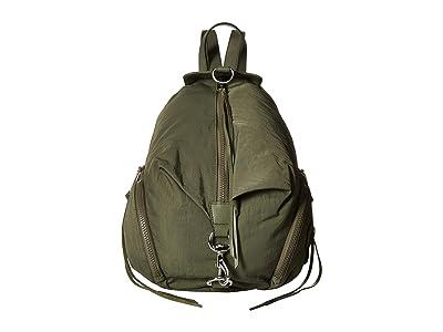Rebecca Minkoff Julian Nylon Backpack (Olive) Backpack Bags