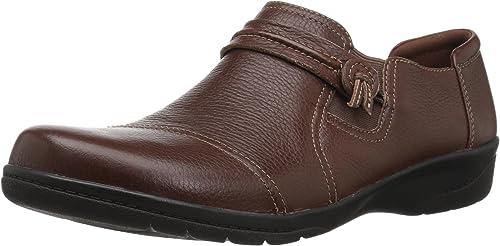 CLARKS Woherren Cheyn Madi Loafer, tan Tumbled Leather, 090 M US
