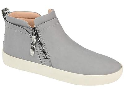 Journee Collection Comfort Foamtm Frankie Sneakers (Grey) Women