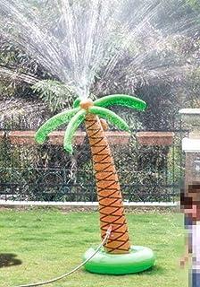 Cozyswan 噴水 椰子の木 ウオータスプレーインフレータブル 膨張式 子供おもちゃ ビーチおもちゃ ビーチボール  スイミング ビーチ プール