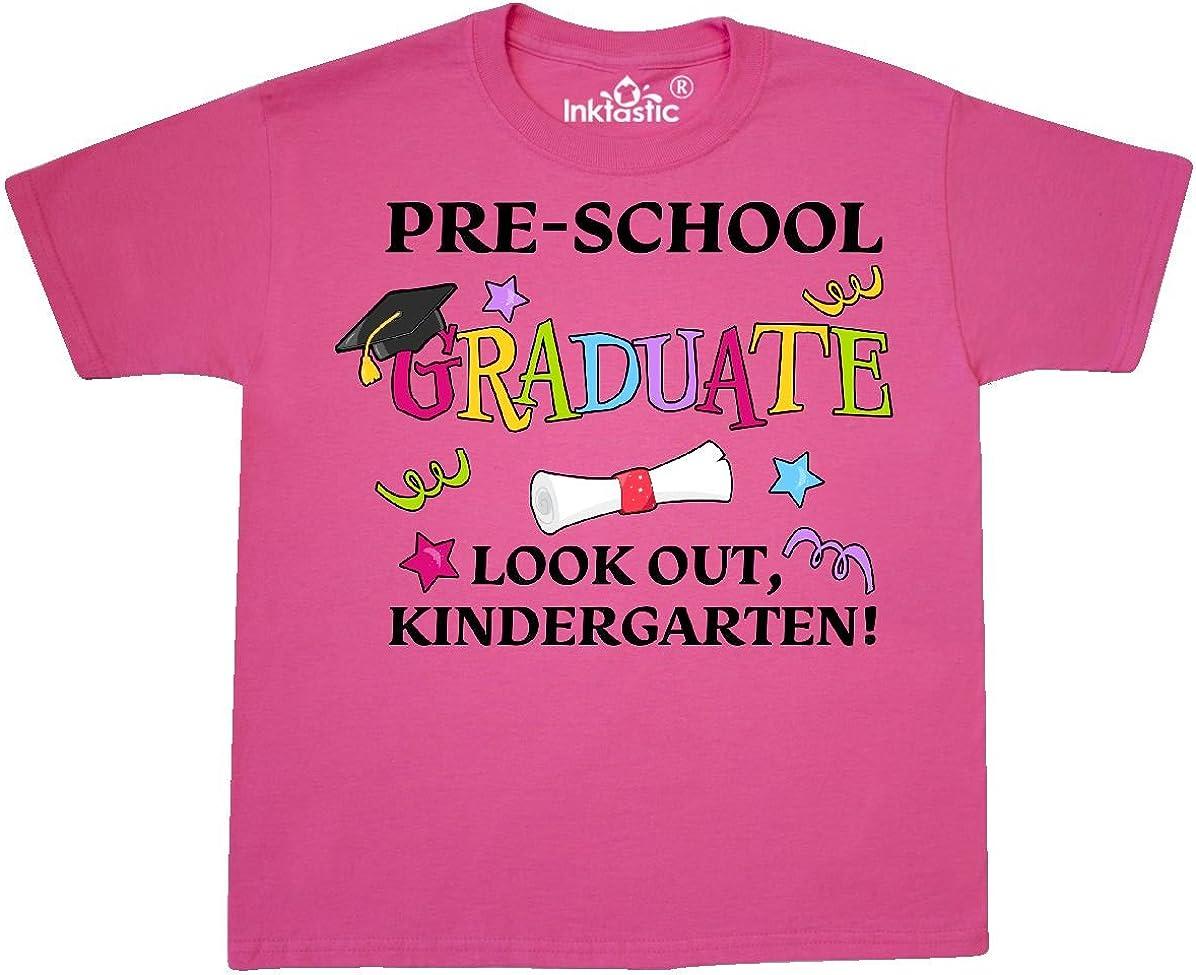 Kindergarten Toddler T-Shirt inktastic Pre-School Graduate Look Out